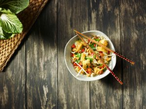 Plukon pot kip thaise curry
